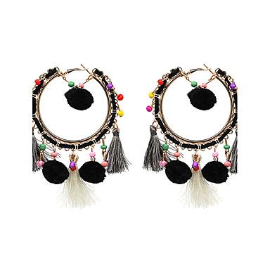 Dames Druppel oorbellen Sieraden Bohemia Style Verstelbaar Luxe Sieraden Oversized Legering Cirkelvorm Geometrische vorm Sieraden Voor
