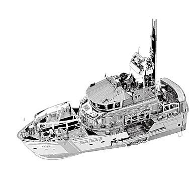 قطع تركيب3D تركيب معدني مجموعات البناء سفينة حربية 3D مواد تأثيث كروم معدن للجنسين هدية