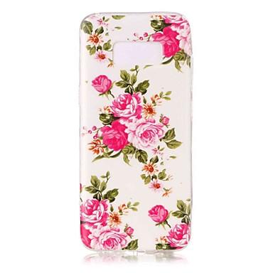 غطاء من أجل Samsung Galaxy S8 Plus S8 يضوي ليلاً نموذج غطاء خلفي زهور ناعم TPU إلى S8 Plus S8 S7 edge S7 S6 edge S6 S5