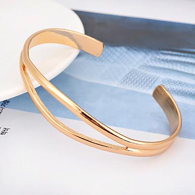 Dames Cuff armbanden Modieus Legering Ovalen vorm Sieraden Voor Feest