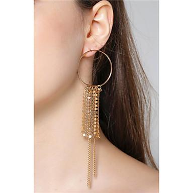 Pentru femei Cercei Set Personalizat Euramerican La modă Material Plasă care Respiră Aluminiu Bijuterii PentruEvenimente/Petrecere
