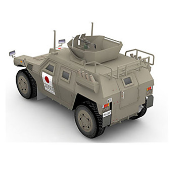 Jucării pentru mașini Puzzle 3D Puzzle Lucru Manual Din Hârtie Rezervor 3D Simulare Articole de mobilier Reparații Clasic Unisex Cadou