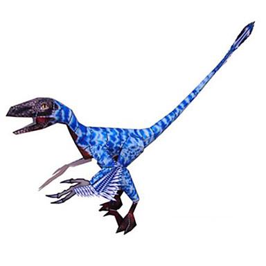 Puzzle 3D Modelul de hârtie Jucarii Pătrat Dinosaur Reparații Hârtie Rigidă pentru Felicitări Ne Specificat Bucăți
