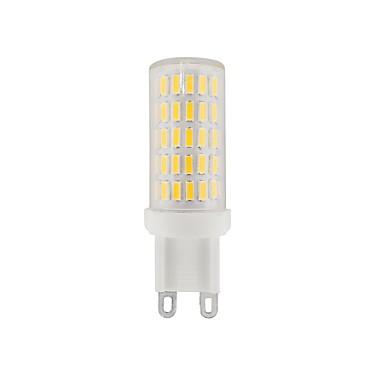 3.5 G9 Becuri LED Bi-pin T 86 LED-uri SMD 4014 Decorativ Alb Cald Alb Natural Alb 380-420lm 2800-6500K 110-120V