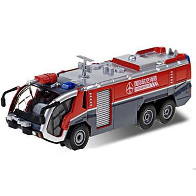 Spielzeug-Autos Fahrzeuge aus Druckguss Spielzeuge Motorräder Züge Feuerwehrauto Spielzeuge Rechteckig Schleppe Feuerwehr Autos