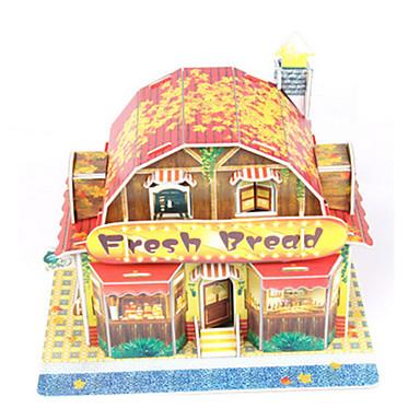 Puzzle 3D Puzzle Modelul de hârtie Μοντέλα και κιτ δόμησης Casă Arhitectură 3D Reparații Hârtie de înaltă calitate Clasic Băieți Unisex