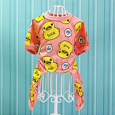 Katze Hund Kleider Hundekleidung Punkt Orange Grün Baumwolle Kostüm Für Haustiere Lässig/Alltäglich