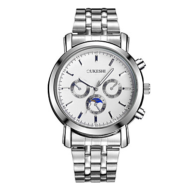 Heren Gesimuleerd Diamant Horloge Unieke creatieve horloge Polshorloge Dress horloge Modieus horloge Vrijetijdshorloge Chinees Kwarts Hot
