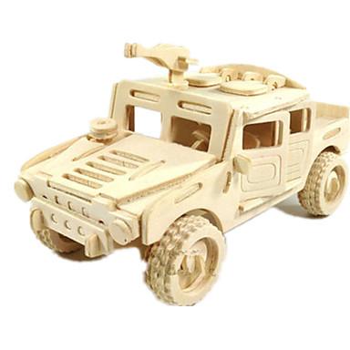 Jucării pentru mașini Puzzle 3D Puzzle Modele de Lemn Aeronavă Mașină Cai 3D Reparații Lemn Clasic Băieți Unisex Cadou