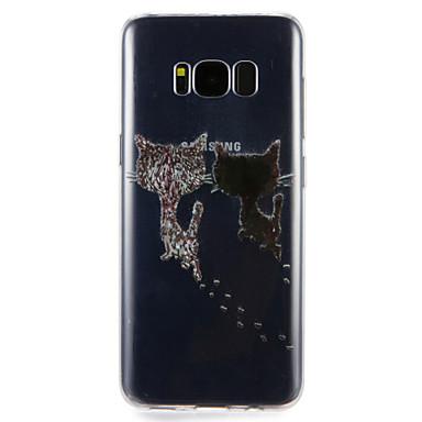 غطاء من أجل Samsung Galaxy S8 Plus S8 نموذج غطاء خلفي قطة ناعم TPU إلى S8 Plus S8 S7