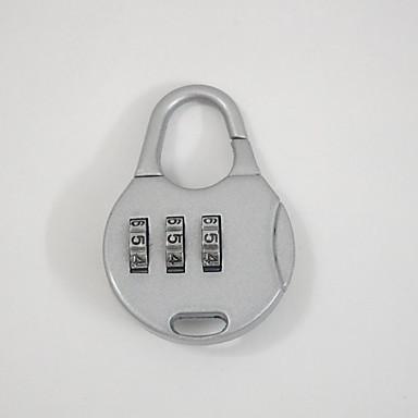 002 bagage bagage accessoires slot wachtwoord ontgrendelen 3 cijfer wachtwoord dail lock wachtwoord slot
