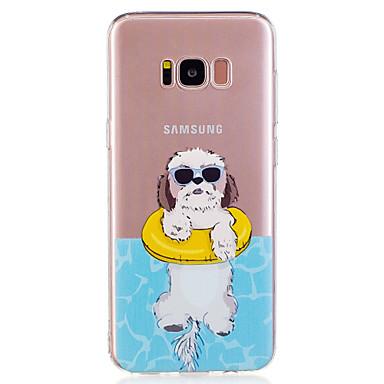 hoesje Voor Samsung Galaxy S8 Plus S8 Patroon Achterkantje Hond Zacht TPU voor S8 S8 Plus S7 edge S7 S6 edge S6