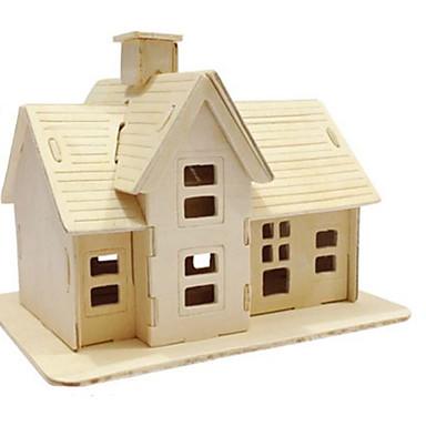 3D-puzzels Legpuzzel Modelbouwsets Speeltjes Beroemd gebouw Architectuur 3D DHZ Natuurlijk Hout Niet gespecificeerd Stuks