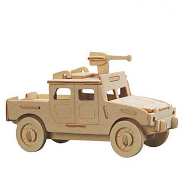 قطع تركيب3D تركيب معدني النماذج الخشبية مجموعات البناء سيارة اصنع بنفسك الخشب الطبيعي كلاسيكي للأطفال للبالغين للجنسين هدية