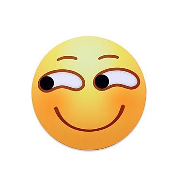 Mr.vivi sneaky Lächeln Ausdruck Mauspad ringsum Lächeln Mauspad Set Pad 20 * 20cm