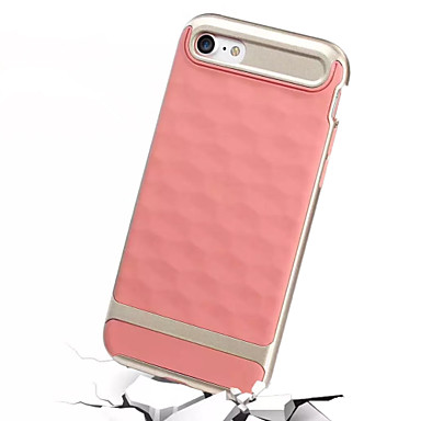 Geval voor apple iphone 7 plus iphone 7 case cover schokbestendig back cover case vaste kleur harde pc voor apple iphone 6s plus iphone 6