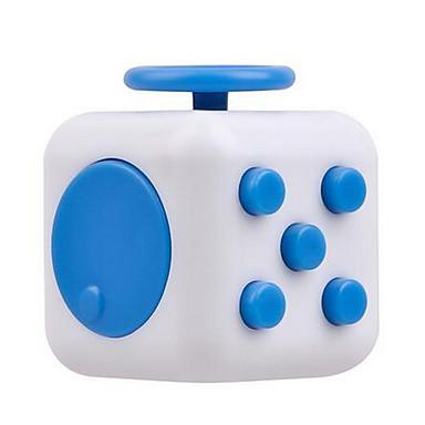 مكعب روبيك السلس مكعب سرعة مخفف الضغط السليكون المطاط مربع هدية