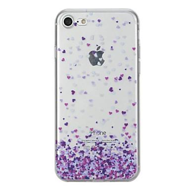 Voor Hoesje cover Patroon Achterkantje hoesje Hart Zacht TPU voor AppleiPhone 7 Plus iPhone 7 iPhone 6s Plus iPhone 6 Plus iPhone 6s