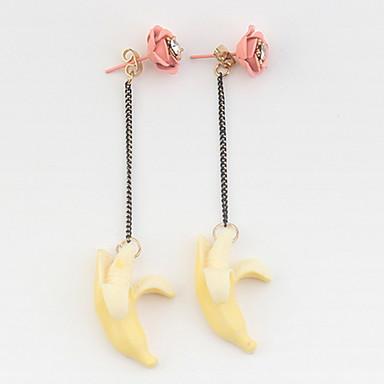 Damen Tropfen-Ohrringe Acryl Personalisiert Einzigartiges Design Klassisch Böhmische Grundlegend Sexy Freundschaft Britisch USA Schmuck