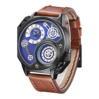 Bărbați Unic Creative ceas Ceas de Mână Ceas La Modă Ceas Sport Ceas Casual Chineză Quartz Calendar Rezistent la Apă Mare Dial Punk Busolă