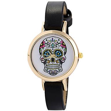 Pentru femei Ceas Sport Ceas La Modă Ceas de Mână Unic Creative ceas Ceas Casual Quartz Piele Bandă Casual Creative Luxos Elegant Negru