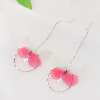 Dames Druppel oorbellen Imitatie ParelBasisontwerp Uniek ontwerp Dierenontwerp Parel Vriendschap Movie Jewelry Opvallende sieraden