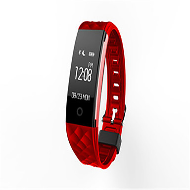 Dames Slim horloge Modieus horloge Digitaal Silicone Band Zwart Wit Rood