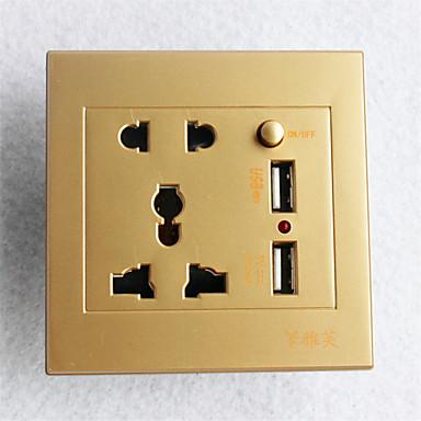 1PC جودة عالية الديكور مخرج كهربائي