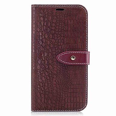 Maska Pentru Samsung Galaxy A5(2017) A3(2017) Titluar Card Portofel Întoarce Magnetic Carcasă Telefon Culoare solidă Greu PU piele pentru