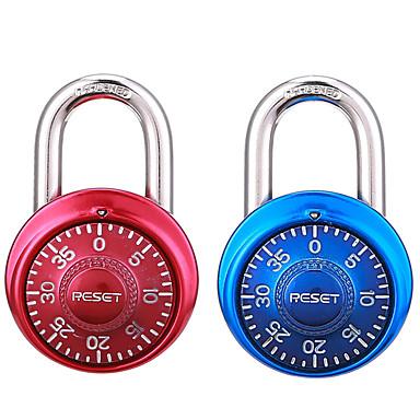 Zurücksetzen rst-015 Zink-Legierung Rotary Code Lock Fitness Vorhängeschloss Schublade Passwort Sperre 2 Paar Dail Lock Passwort Sperre