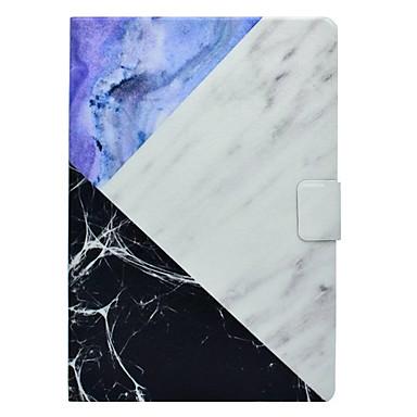 Hülle Für Apple iPad Mini 3/2/1 iPad 4/3/2 iPad Air 2 iPad Air Kreditkartenfächer mit Halterung Muster Ganzkörper-Gehäuse Marmor Hart