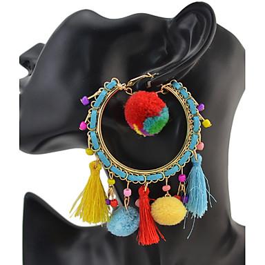 Damen Tropfen-Ohrringe Personalisiert Luxus Geometrisch Einzigartiges Design Quaste Klassisch Böhmische Grundlegend Sexy Freundschaft
