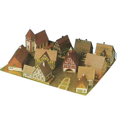 Puzzle 3D Lucru Manual Din Hârtie Reparații Hârtie Rigidă pentru Felicitări Pentru copii Băieți Unisex Cadou