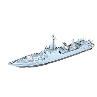 Puzzle 3D Puzzle Μοντέλα και κιτ δόμησης Navă Militară Navă 3D Reparații Hârtie de înaltă calitate Clasic Pentru copii Fete Băieți Unisex