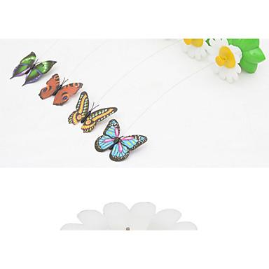 Stab-Spielzeug für Katzen Lockspielzeug für Katzen Schmetterling Schmetterling Kunststoff Für Katze Kätzchen