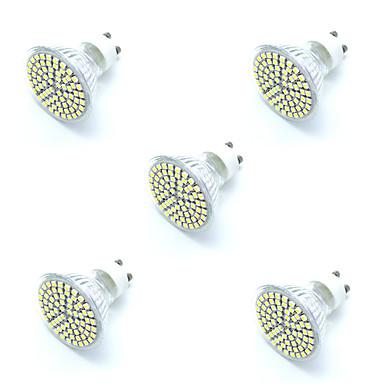 5W 380 lm GU10 LED-spotlampen MR11 72 leds SMD 2835 Decoratief Warm wit Koel wit AC 220-240V