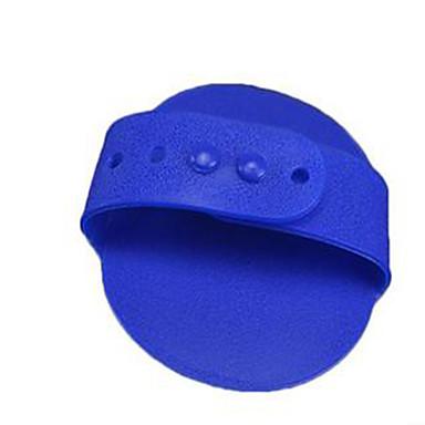 كلب العناية الصحية الحمامات المحمول تدليك مطاط أزرق