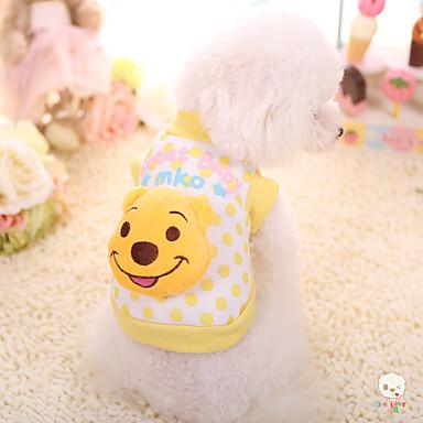 كلب المعاطف ملابس الكلاب كارتون قطن بطانة فرو كوستيوم للحيوانات الأليفة الدفء