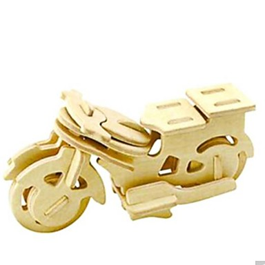 Puzzle 3D Puzzle Modele de Lemn Motocicletă 3D Animale Reparații Lemn Lemn natural Unisex Cadou