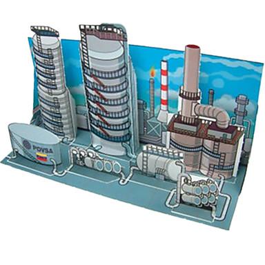 Kit Lucru Manual Puzzle 3D Modelul de hârtie Jucarii Clădire celebru Arhitectură 3D Reparații Ne Specificat Unisex Bucăți