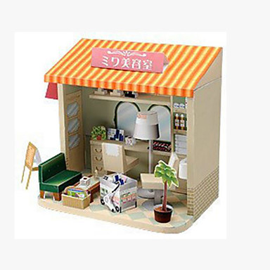 3D - Puzzle Papiermodel Papiermodelle Modellbausätze Quadratisch Berühmte Gebäude Architektur 3D Heimwerken Hartkartonpapier Klassisch