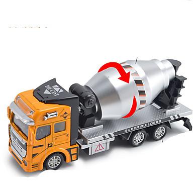 Speelgoedauto's Speeltjes Motorfietsen Constructievoertuig Brandweerwagen Sproeitruck Speeltjes Rechthoekig Metaallegering Rauta Stuks