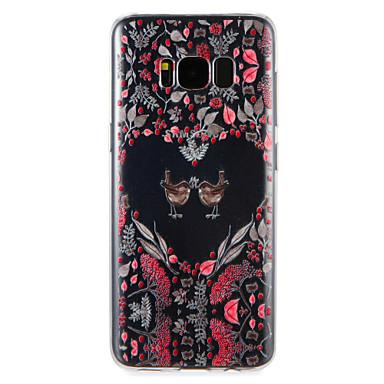 Hülle Für Samsung Galaxy S8 Plus S8 Muster Rückseite Blume Tier Weich TPU für S8 Plus S8 S7