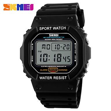 Heren Digitaal horloge Polshorloge Smart horloge Dress horloge Modieus horloge Sporthorloge Chinees Digitaal Kalender Grote wijzerplaat