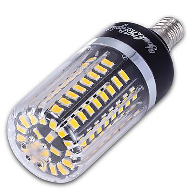 9W 900 lm E14 Becuri LED Corn 100 led-uri SMD 5736 Decorativ Alb Cald Alb Rece AC 85-265V