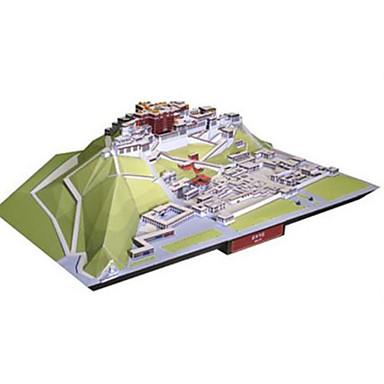 3D-puzzels Bouwplaat Speeltjes Vierkant Beroemd gebouw Chinese architectuur Architectuur DHZ Hard Kaart Paper Niet gespecificeerd Stuks