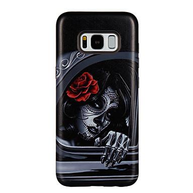 غطاء من أجل Samsung Galaxy S8 Plus S8 ضد الصدمات نموذج غطاء خلفي امرآة مثيرة زهور قاسي PC إلى S8 S8 Plus S7 edge S7 S6 edge S6