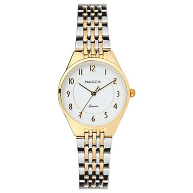 Dames Modieus horloge Kwarts Waterbestendig Legering Band Goud