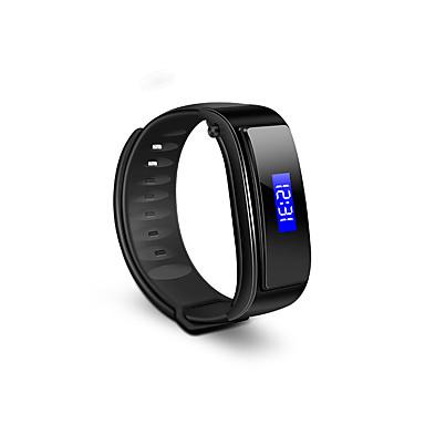 Slimme armband Verbrande calorieën Stappentellers Touch Screen Handsfree bellen Activiteitentracker Bluetooth 4.0 Geen Sim Card Slot