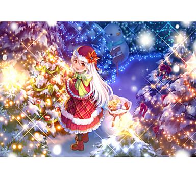 Legpuzzel Vierkant Nieuwigheid Puinen Hout Anime Cartoon Unisex Geschenk